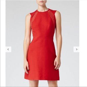 Reiss Nikita lace cotton dress